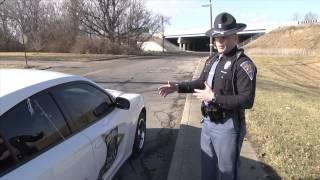 Indiana State Police Trooper Jarrin Franklin