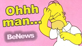 Mega-Klage gegen die Simpsons - Verblödet Youtube?   BeNews