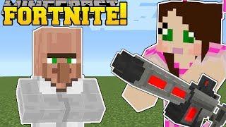 Minecraft: DR. TRAYAURUS LAB - FORTNITE BATTLE ROYALE - Modded Mini-Game