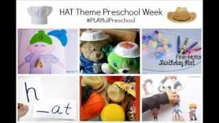 Hat Preschool Activities