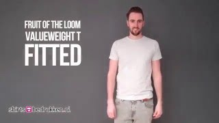 Fruit of the Loom Valueweight Fitted T   61-200-0
