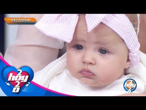 ¡Marlene Favela presenta en exclusiva a su hija Bella! | Hoy