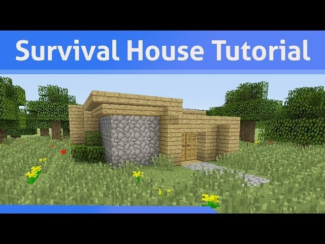 How To Build A House Minecraft Xbox One