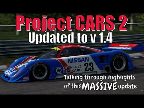 Project CARS 2 Version 1.4 Update Summary and Review
