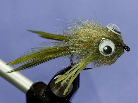 Fly tying - Frog fly