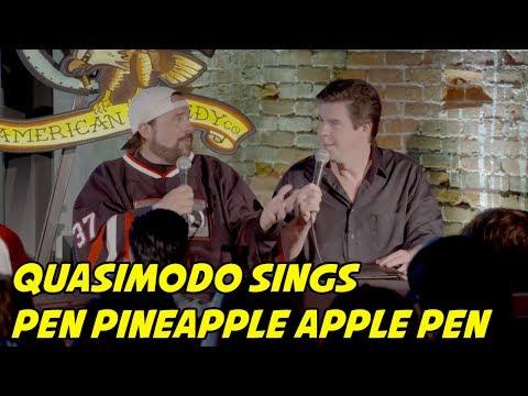 Quasimodo Sings Pen Pineapple Apple Pen