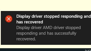 Nvidia display driver stopped responding and has recovered nvlddmkm.sys solution