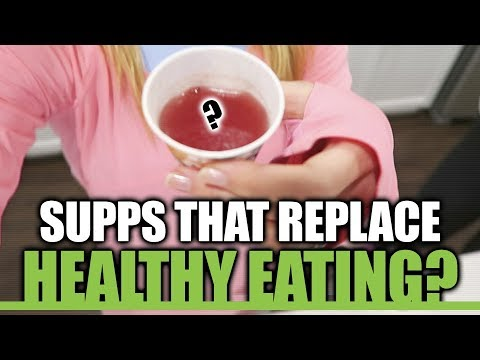 Supplements that Replace Healthy Eating?? | Superfoods of the Future