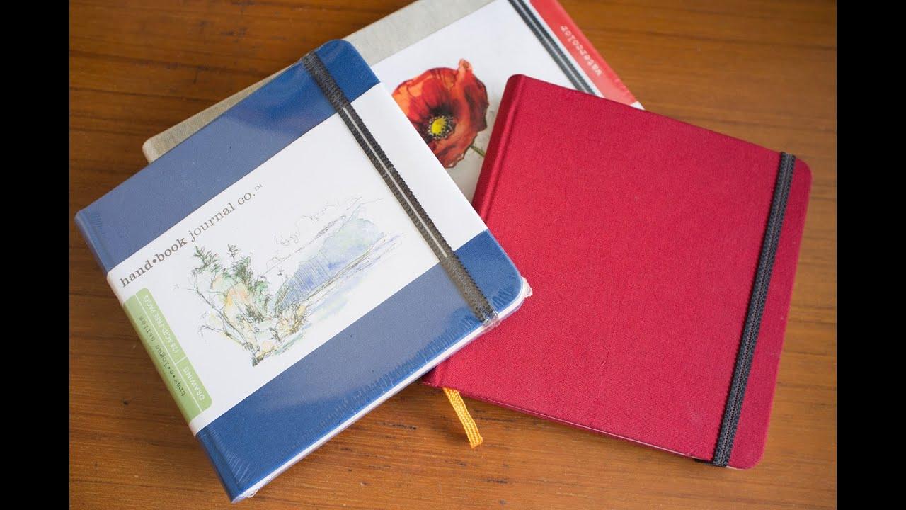 Book Cover Watercolor Florida ~ Global art materials handbook series sketchbook review
