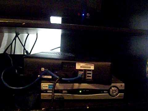 instructional video on how to get a wired connnection using att u-verse box  - youtube