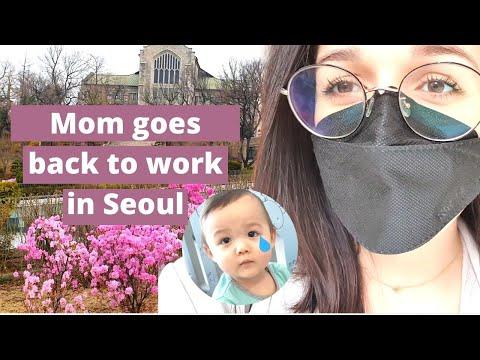 Seoul Vlog | 육아맘 복직첫날 브이로그 Mom's 1st Day Back to the Office