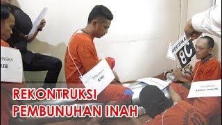 Download Video Rekonstruksi Pembunuhan dan Pembakaran Mayat Inah   Asri Otak Pembunuhan MP3 3GP MP4