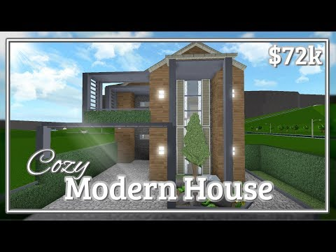 Bloxburg - Cozy Modern House Speed-build