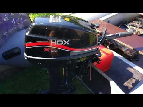 Лодочный мотор HDX R Series T 9.9 / 15 BMS первые впечатления