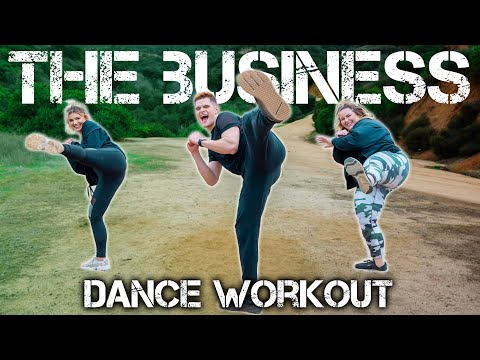 Tiesto - The Business | Caleb Marshall | Dance Workout