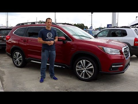 Why is the 2019 Subaru Ascent Limited LARGE and in CHARGE? - Raiti's Rides