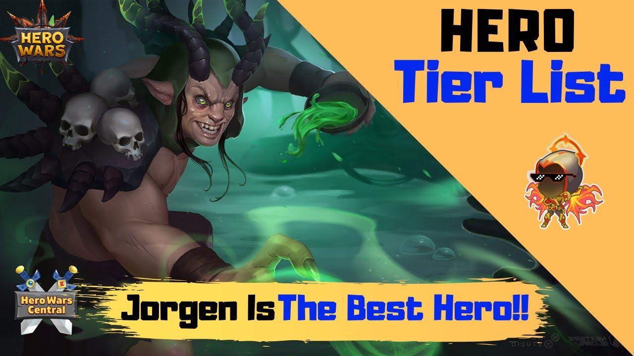Download Hero Wars   Is Jorgen the Best Hero? Jorgen Tier List Discussion