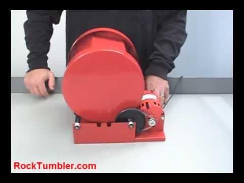 thumler 39 s model b rock tumbler youtube. Black Bedroom Furniture Sets. Home Design Ideas