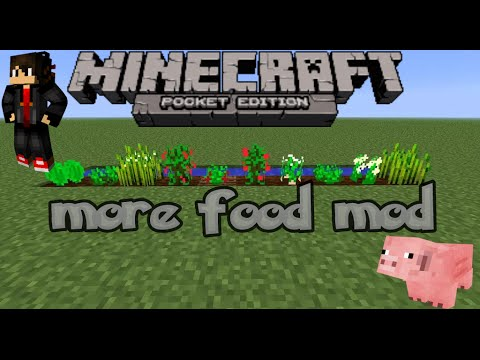 how to cook food in minecraft pe