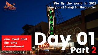 Shinji & Lucy Earthrounder Day 1  - Part 2