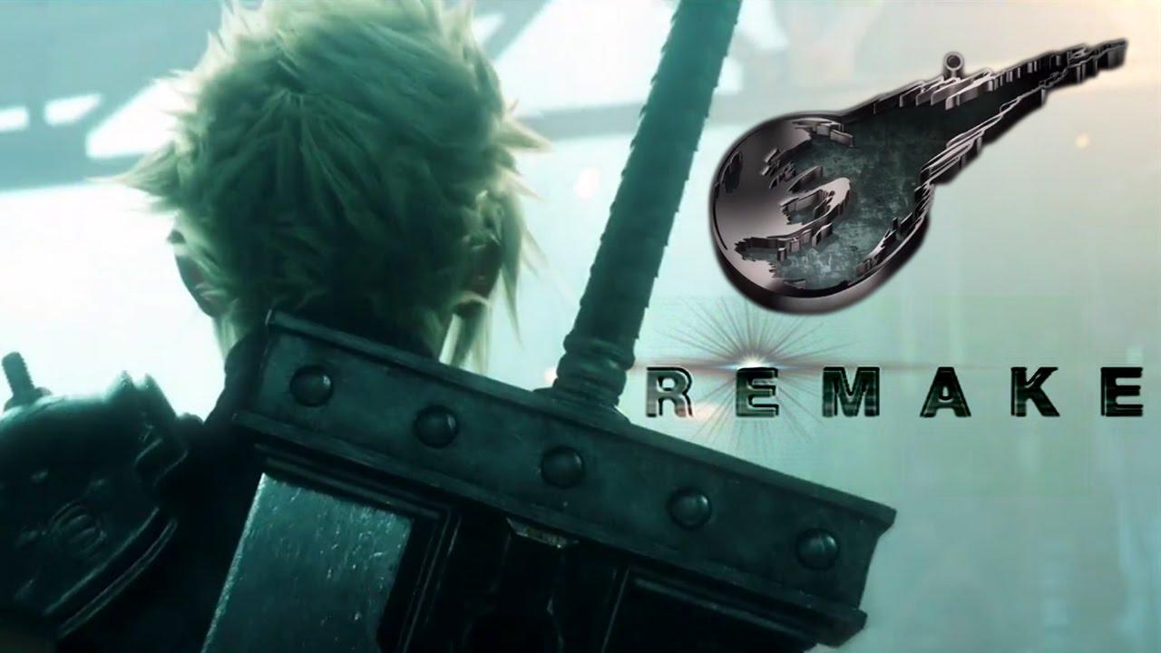 Final Fantasy VII REMAKE My E3 Live Reaction YouTube