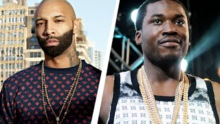 Meek Mill says he WILL NOT Make a Diss Song about Joe Budden and Calls him a CRACKHEAD!