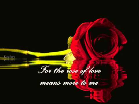 Patsy Cline  - A Poor Man's Roses (With Lyrics)