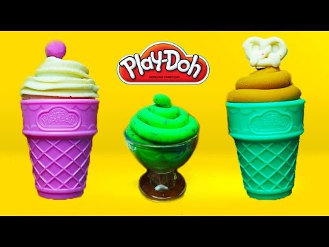 Play Doh Ice Cream shop playdough videos creations and more