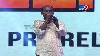 Folk Singer Siva Nagulu Amazing Performance @ Rangasthalam Pre Release Event || TV9