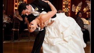 Свадьба. Танцы. Первый танец молодых
