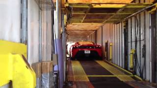 Ferrari  430 Scuderia - Enclosed Car Hauler