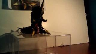 Kaiju Reviews: Episode 3 BAN DAI Battra larva