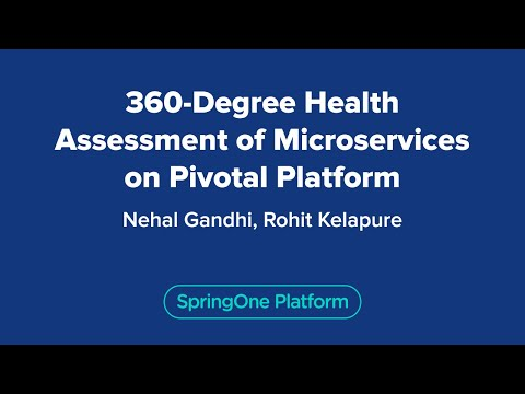360 Degree Health Assessment of Microservices on the PCF Platform