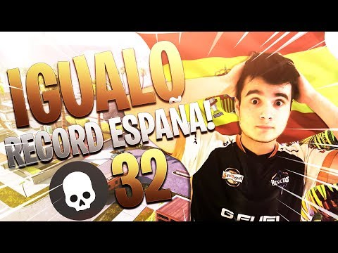 ¡¡ IGUALO RECORD DE ESPAÑA DE 32 KILLS EN SOLO VS SQUAD !!