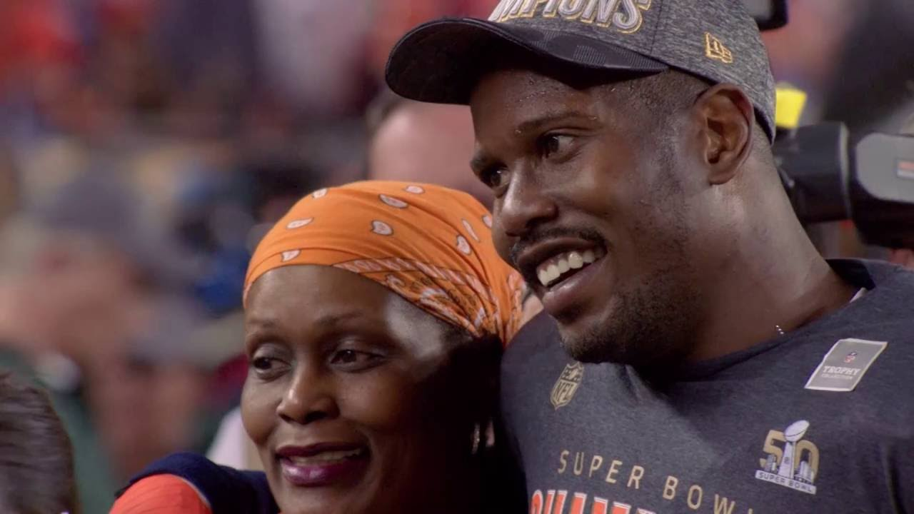 Von Miller and Mom: Through Thick and Thin   NFL Films ...
