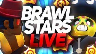[LIVE] Brawl Stars - Jak Wam mija poniedziałek? :P - Na żywo