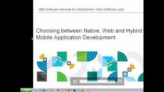 Introduction - Choosing between Native, Web and Hybrid Mobile Application Development