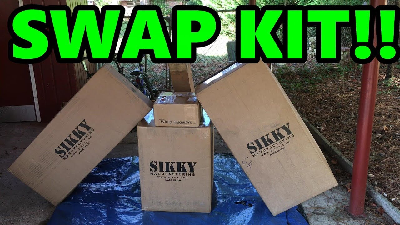Sikky Swap Kit - LS1 240sx (S14) Drift Build (EP 10)