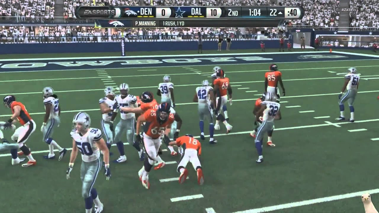 Madden 16 :: Dez Dropped It! ::XBOX ONE Madden NFL 16 Online Gameplay Cowboys Vs. Broncos  YouTube
