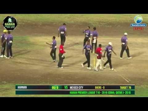 Hannan Cricket Club VS Mexico City in Hanan Premier League T10, Doha, Qatar 2016