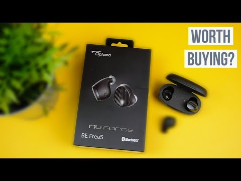 d4e8fe504f0 Best Amazon Wireless Headphones Under $99 - Optoma BE Free5 Review ...