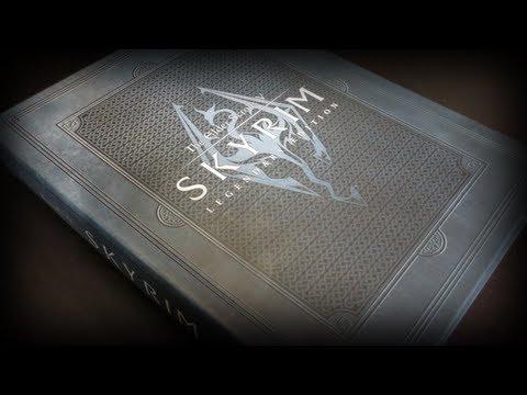 The Elder Scrolls V: Skyrim Legendary Edition Game Guide Review Unboxing