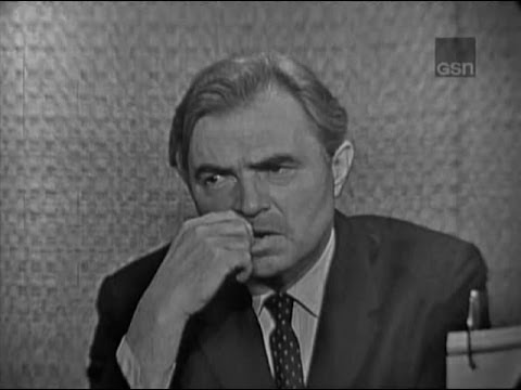 What's My Line? - James Mason; Merv Griffin [panel]; Faye Emerson [panel] (Jun 17, 1962)