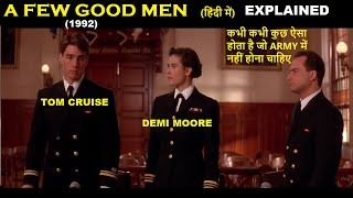 A Few Good Men (1992) Movie Explained in Hindi | Web Series Story Xpert