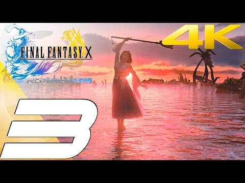 Final Fantasy X HD Remaster PC - Walkthrough Part 3 - Kilika Port & Sending [4K UHD]