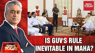 Guv Snubs Sena's Claims, Is Governor's Rule Inevitable? | News Today Debate