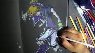 Drawing Neku Sakuraba from The Worlds Ends With You