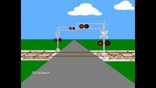 Animated Railroad Crossings