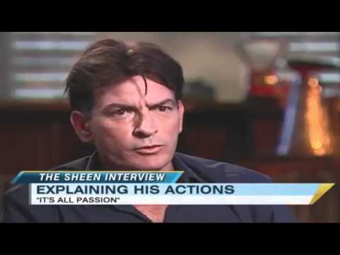 Charlie Sheen Interviews Colonel Gadaffi