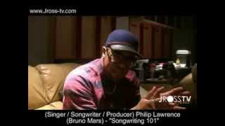 James Ross @ (Songwriter / Bruno Mars) Philip Lawrence - Make A Song On The Spot - www.Jross-tv.com